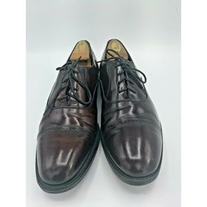 Johnston & Murphy Burgundy Leather Oxfords Size 9M